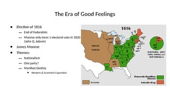 Nationalism and Economic Development PPT - Period 4 new APUSH Curriculum