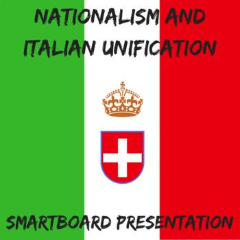 Nationalism and Italian Unification Smartboard Presentation