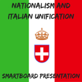 Nationalism and Italian Unification Smartboard Presentation