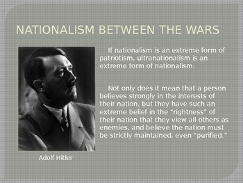 Nationalism and the World Wars - PowerPoint Presentation