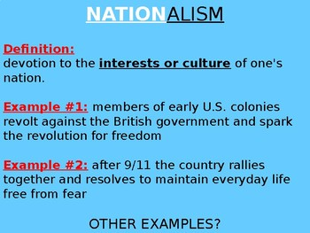 Nationalism in Africa PowerPoint