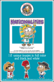 Nationalities Cartoon Clipart | Nationalities Clipart for ALL grades