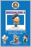 Nationalities Vol 3 Cartoon Clipart | Nationalities Clipar