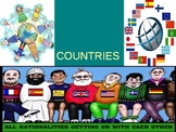 Nationalities around the world