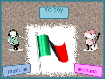 Nacionalidades (Nationalities in Spanish) power point