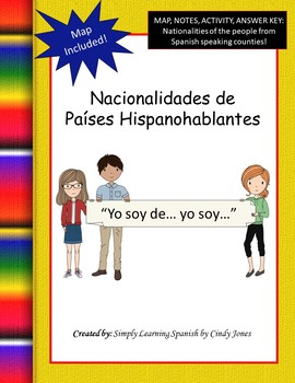 Nationalities of Spanish Speaking Countries