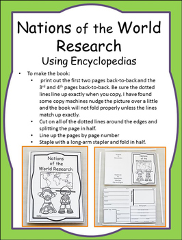 Nations of the World Research Using Encyclopedias