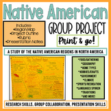 Native American Activities   Regions   Group Project