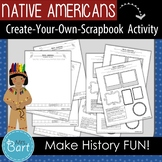 "Native American Activity- ""Create Your Own Scrapbook!"""