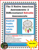 Native American Assessment: A Modified Assessment for the Inclusion Class