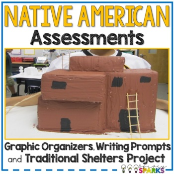 Native American Assessments & Graphic Organizer
