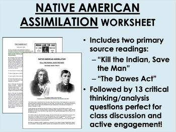 Native American Assimilation - US History/APUSH