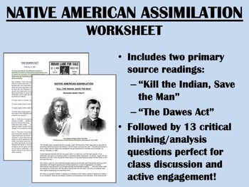 Native American Assimilation - US History/APUSH