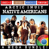 Arctic Inuit Native American Indians / Customs / Shelter / Inventions / Language