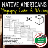 Native American Activity Biography Cubes (History) Activities
