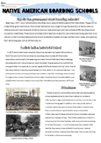 Native American Boarding Schools & Audience