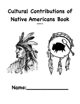 Native American Book (cultural contributions)