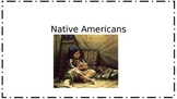 Native American Book for Early Elementary