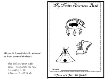 Native American Booklet