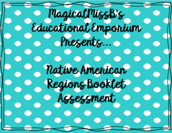 Native American Booklet Assessment