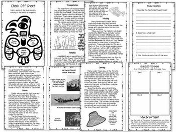 Native American Booklet Bundle - Social Studies