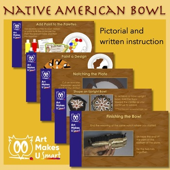 Native American Bowl Cultural Weaving Art Lesson Powerpoint