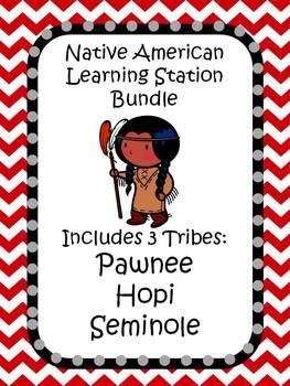 Native American Bundle 2: Pawnee, Hopi, and Seminole