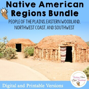 Native American History Bundle:  Lessons, Activities & Pop up Books