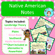 Native American Bundle – Notes, Assessments, Study Guide, Project – No Prep