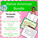 Native American Bundle – Notes, Assessments, Study Guide,