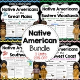 Native American Regions- Projects Bundle
