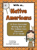 Common Core Native Americans Writing Unit {For the 2nd-3rd