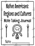 Native American CKLA Note Taking Journal