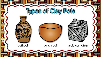 Native American Ceramics Art Lesson | From Clay to Coil to Kiln PowerPoint