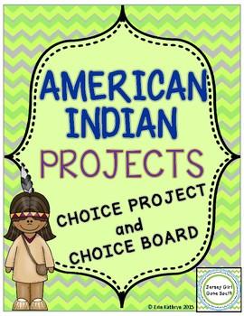 American Indian Choice Projects - Hopi, Inuit, Kwakiutl, Pawnee Native American