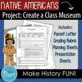 Native American Class Project & Presentation: Create a class museum!