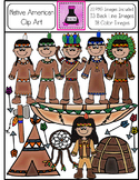 Native American Clip Art Bundle