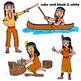 Native American Clip Art Kids