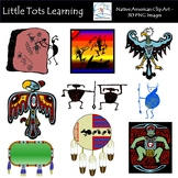 Native American Clip Art - Tribal Elements - Commercial Use