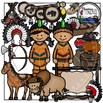 Native American Clipart
