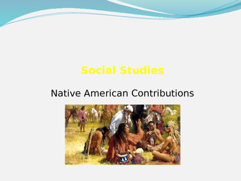 Native American Contributions and Impact of Immigrants on Native Americans