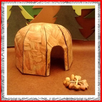 Native American Studies Craft: Woodland Indian Wigwam
