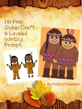 Native American Craft with Leveled Writing Project
