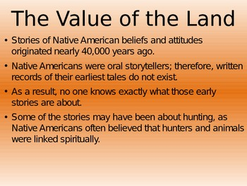 Native American Creation Myths PPT