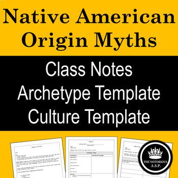 Origin Myth Worksheets Teaching Resources Teachers Pay
