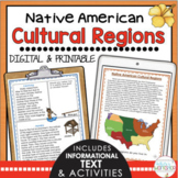 Native American Regions Informational Text and Activities