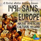 Native American Cultural Regions - Lesson + Presentation + Activities