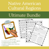 Native American History Cultural Regions Reading Passages & Activities