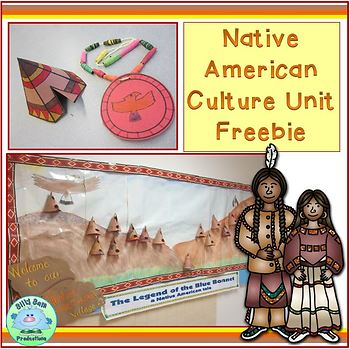 Native American Culture Unit FREEBIE