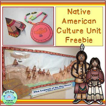 Native American Culture Unit FREEBIE